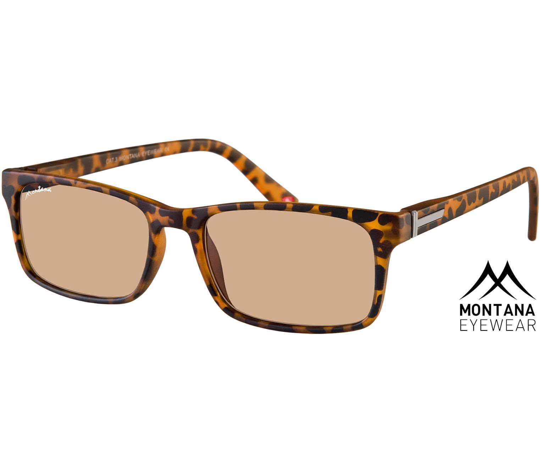 Main Image (Angle) - Sunlight (Tortoiseshell) Classic Sunglasses