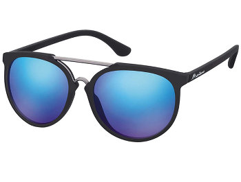 Java (Black) Retro Sunglasses - Thumbnail Product Image
