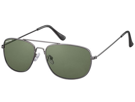 Savanna (Gunmetal) Aviator Sunglasses - Thumbnail Product Image