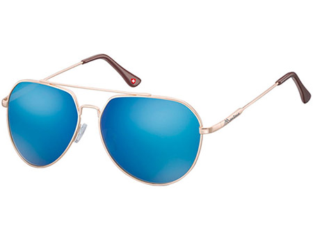 Orbit (Gold) Aviator Sunglasses - Thumbnail Product Image
