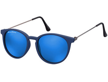 Andalucia (Blue) Retro Sunglasses - Thumbnail Product Image