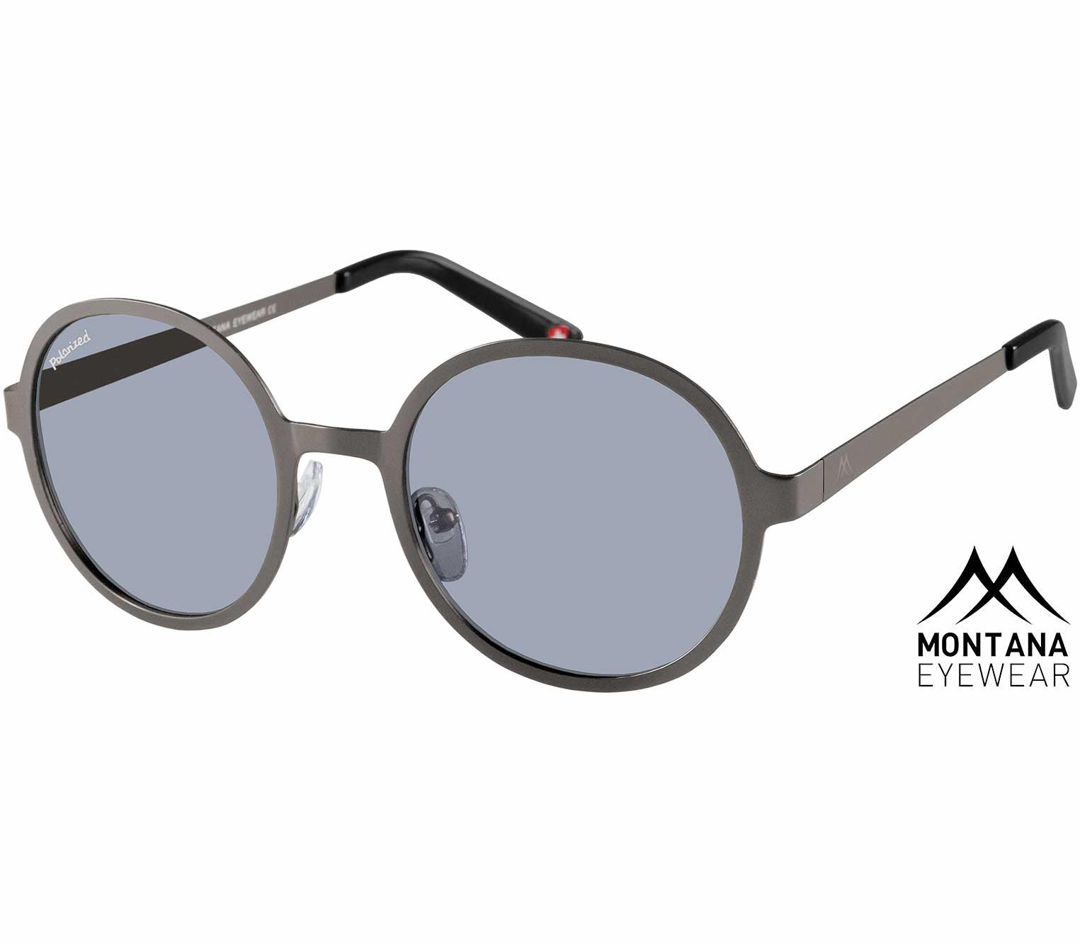 Pulsar (Gunmetal) Retro Sunglasses