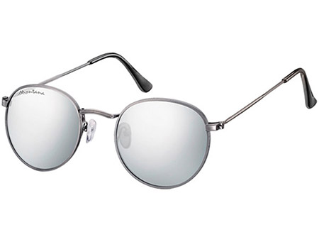 Eclipse (Gunmetal) Retro Sunglasses - Thumbnail Product Image