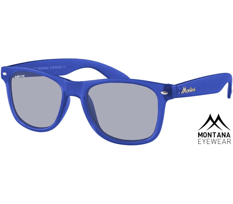 Main Image (Angle) - Osaka (Blue) Wayfarer Sunglasses
