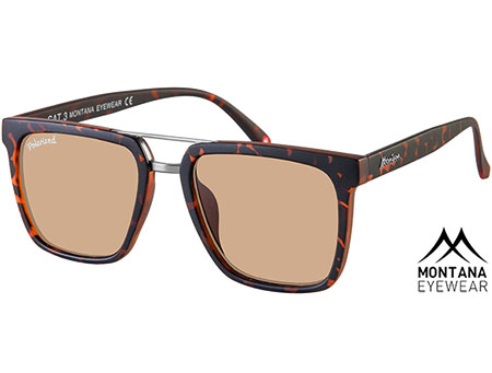 Toulon (Tortoiseshell) Retro Sunglasses - Thumbnail Product Image
