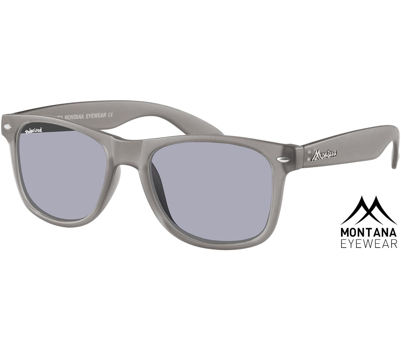 Main Image (Angle) - Osaka (Grey) Wayfarer Sunglasses