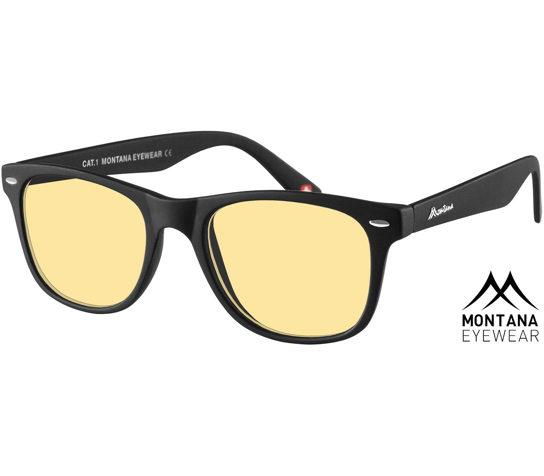 Main Image (Angle) - Grid (Black) Night Driving Glasses Sunglasses