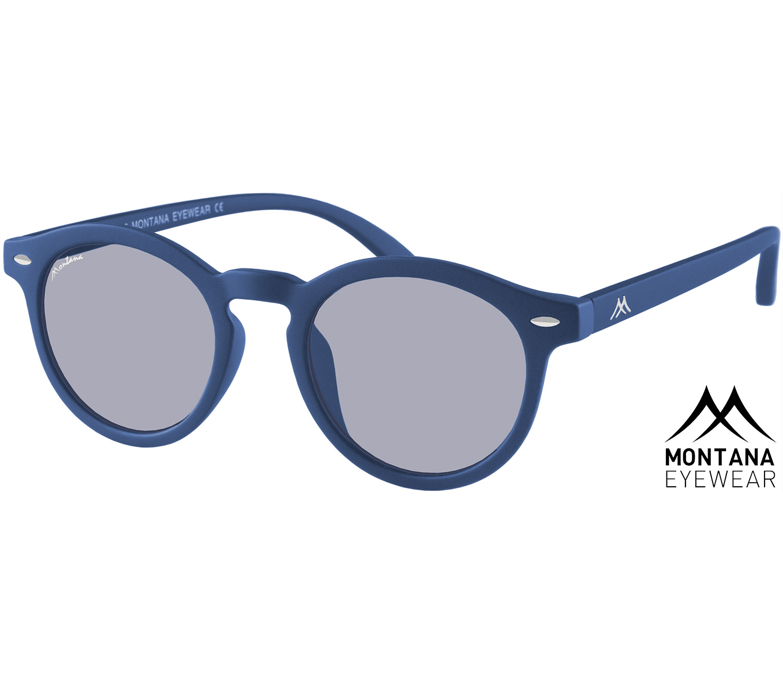 Main Image (Angle) - Drift (Blue) Retro Sunglasses