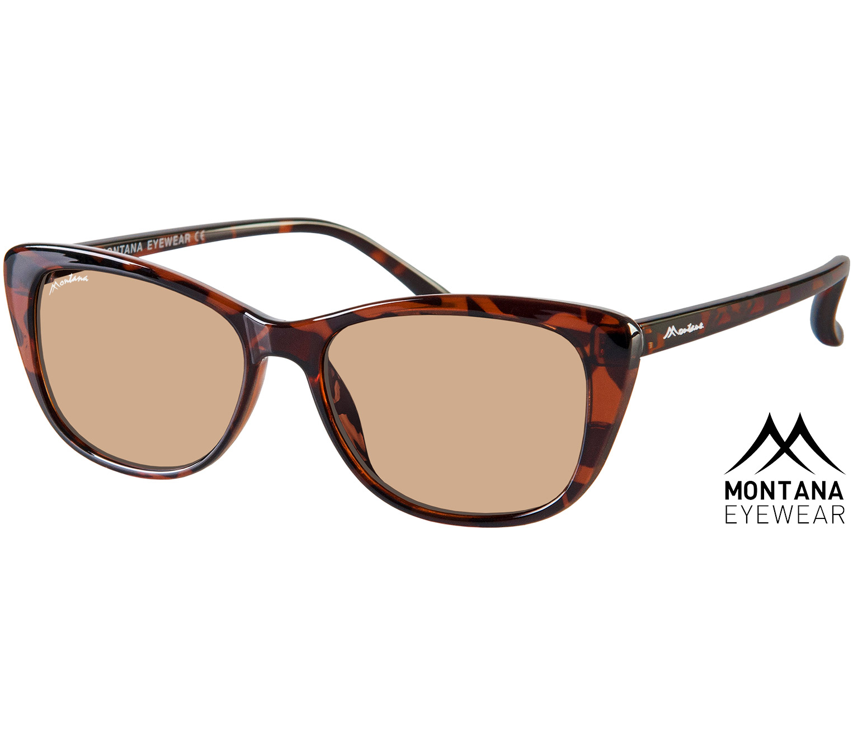 Main Image (Angle) - Maddie (Tortoiseshell) Cat Eye Sunglasses