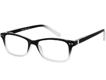 Penguin (Black) Retro Reading Glasses - Thumbnail Product Image