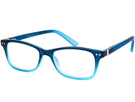 Penguin (Blue) Classic Reading Glasses - Thumbnail Product Image