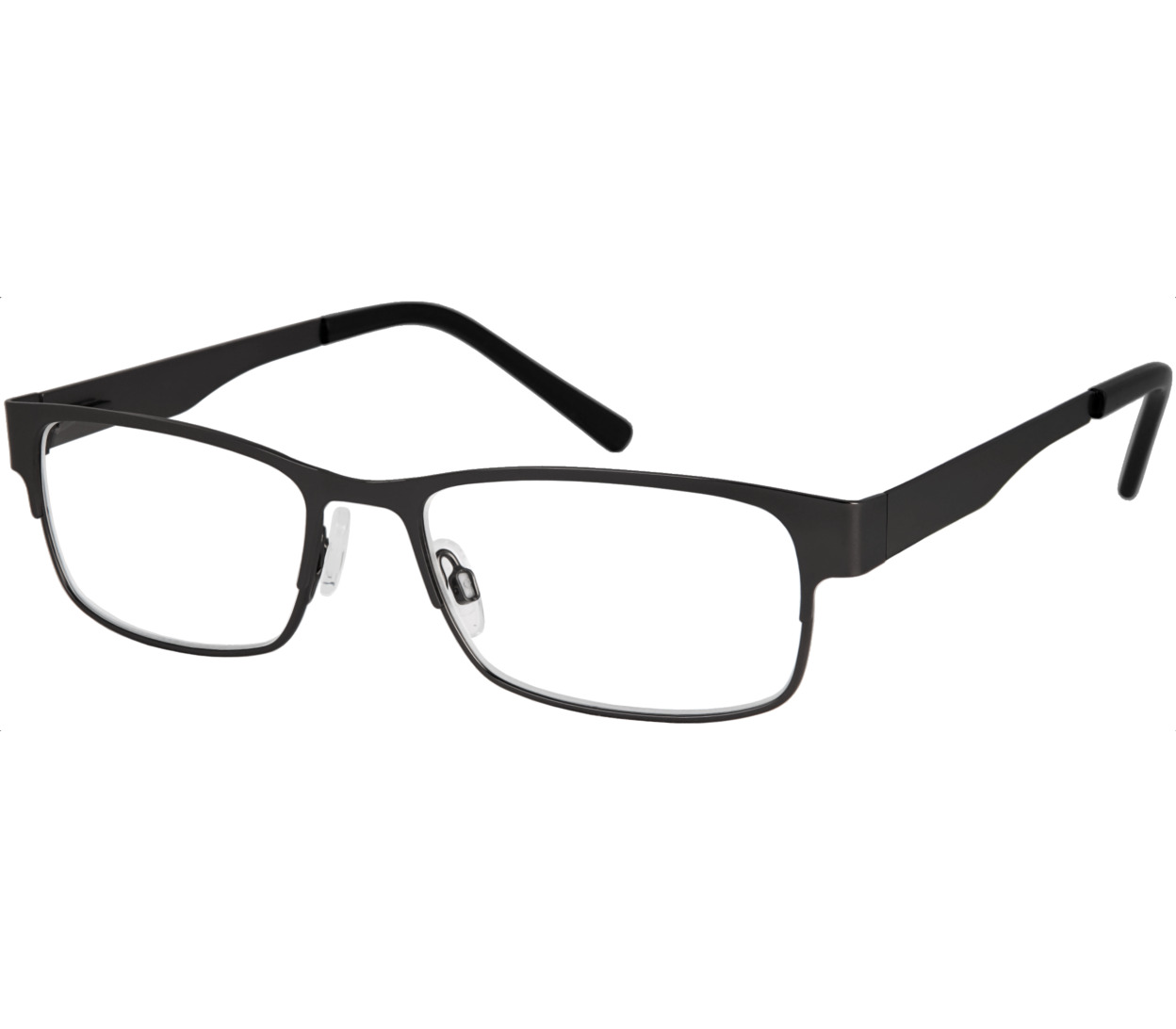 Main Image (Angle) - Kendrick (Black) Classic Reading Glasses