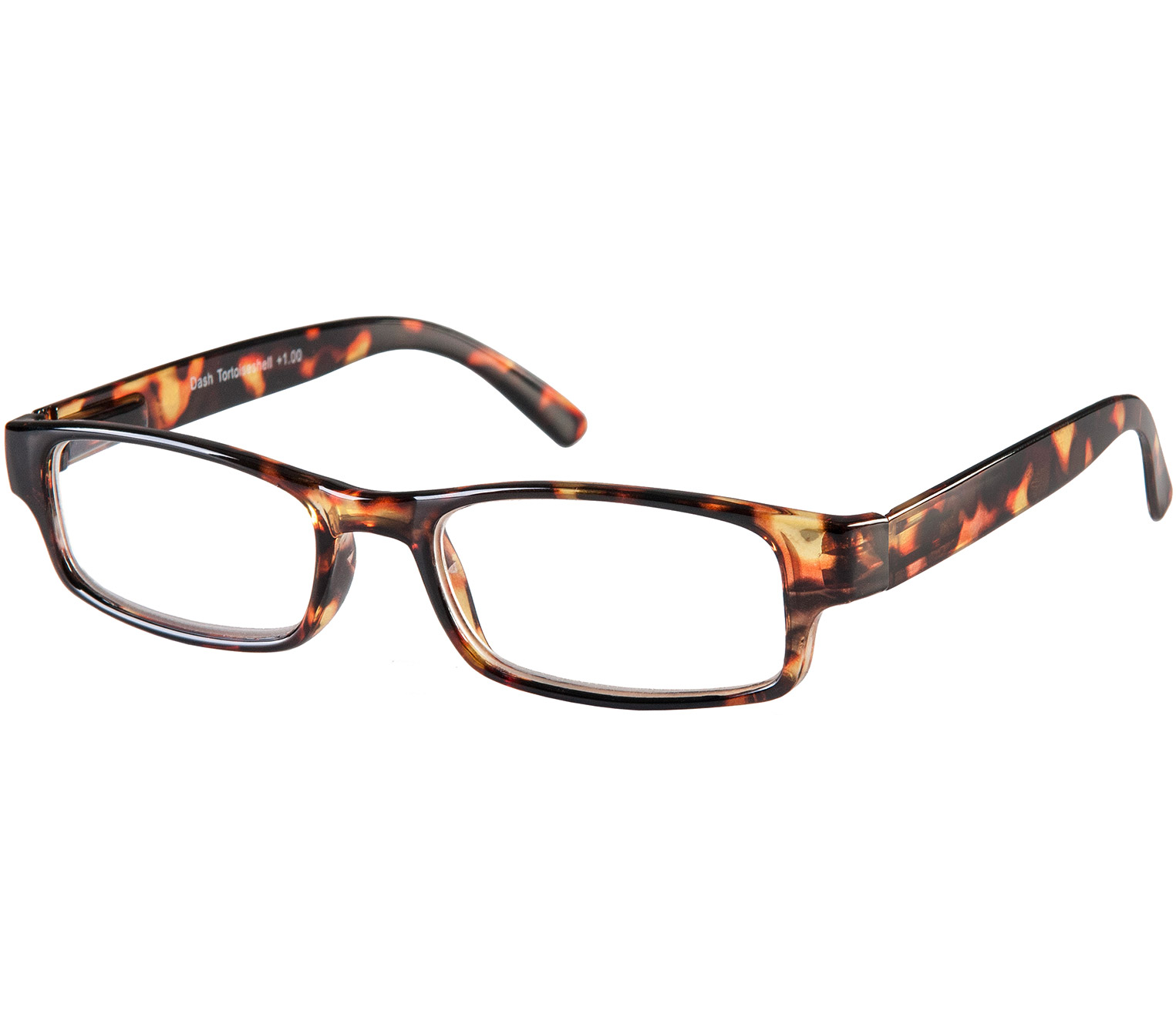 Main Image (Angle) - Dash (Tortoiseshell) Classic Reading Glasses