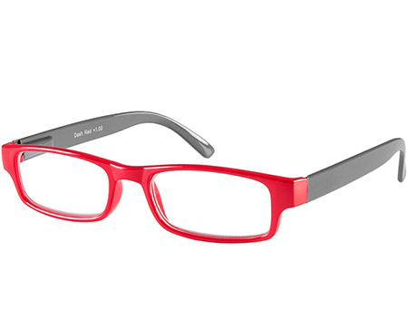 Dash (Red) Classic Reading Glasses - Thumbnail Product Image