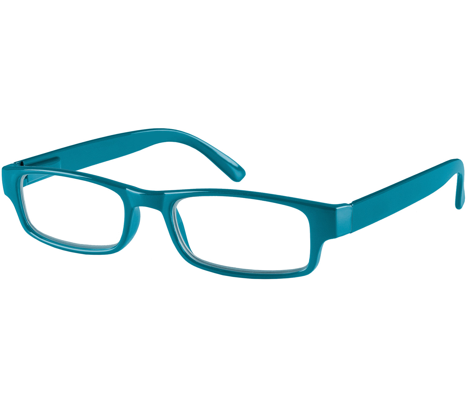 Main Image (Angle) - Dash (Blue) Classic Reading Glasses