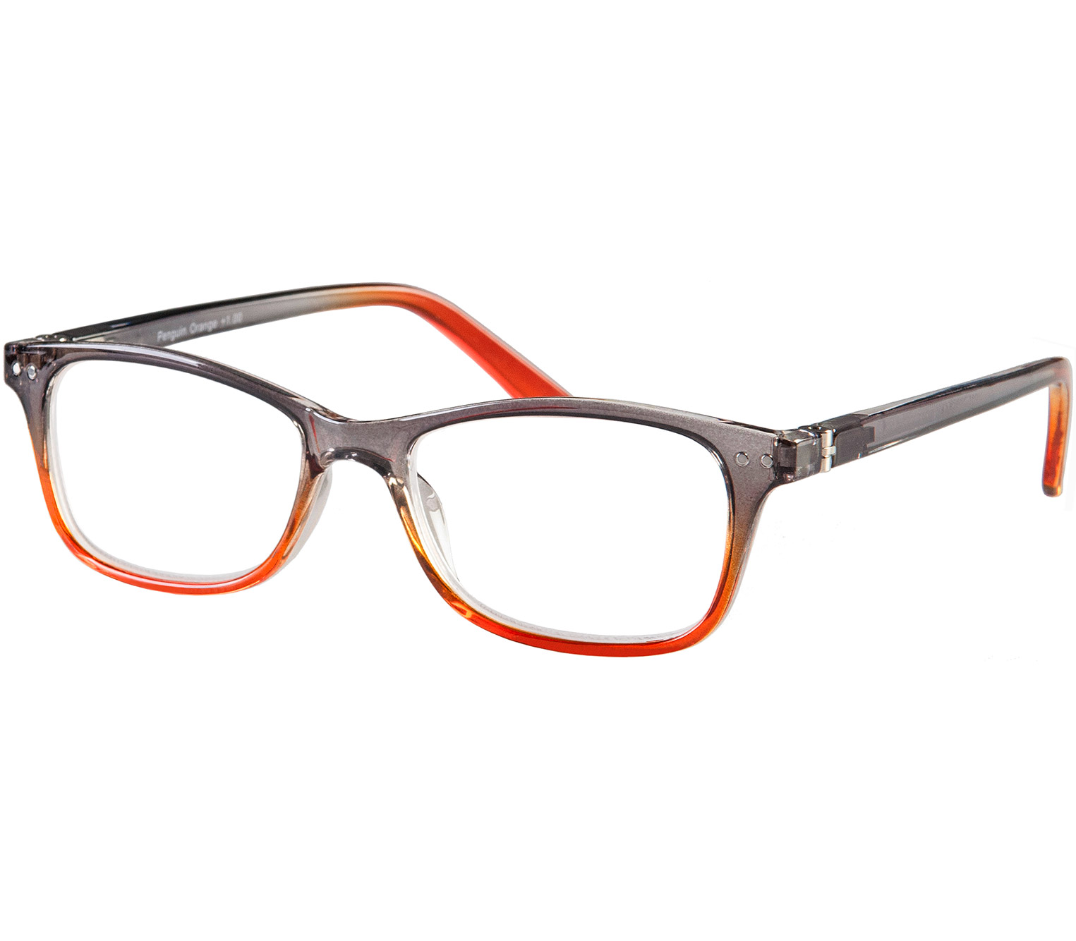 Main Image (Angle) - Penguin (Orange) Classic Reading Glasses