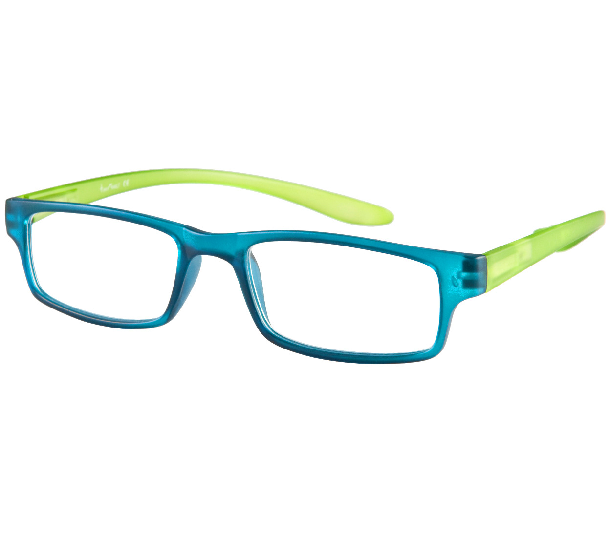 Main Image (Angle) - Swing (Blue) Neck Hanging Reading Glasses