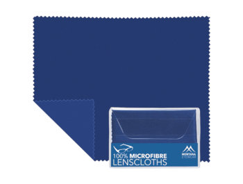 Microfibre Cloth (Blue) Glasses Cloths Accessories - Thumbnail Product Image