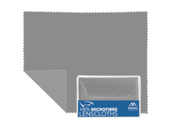 Microfibre Cloth (Grey) Glasses Cloths Accessories - Thumbnail Product Image