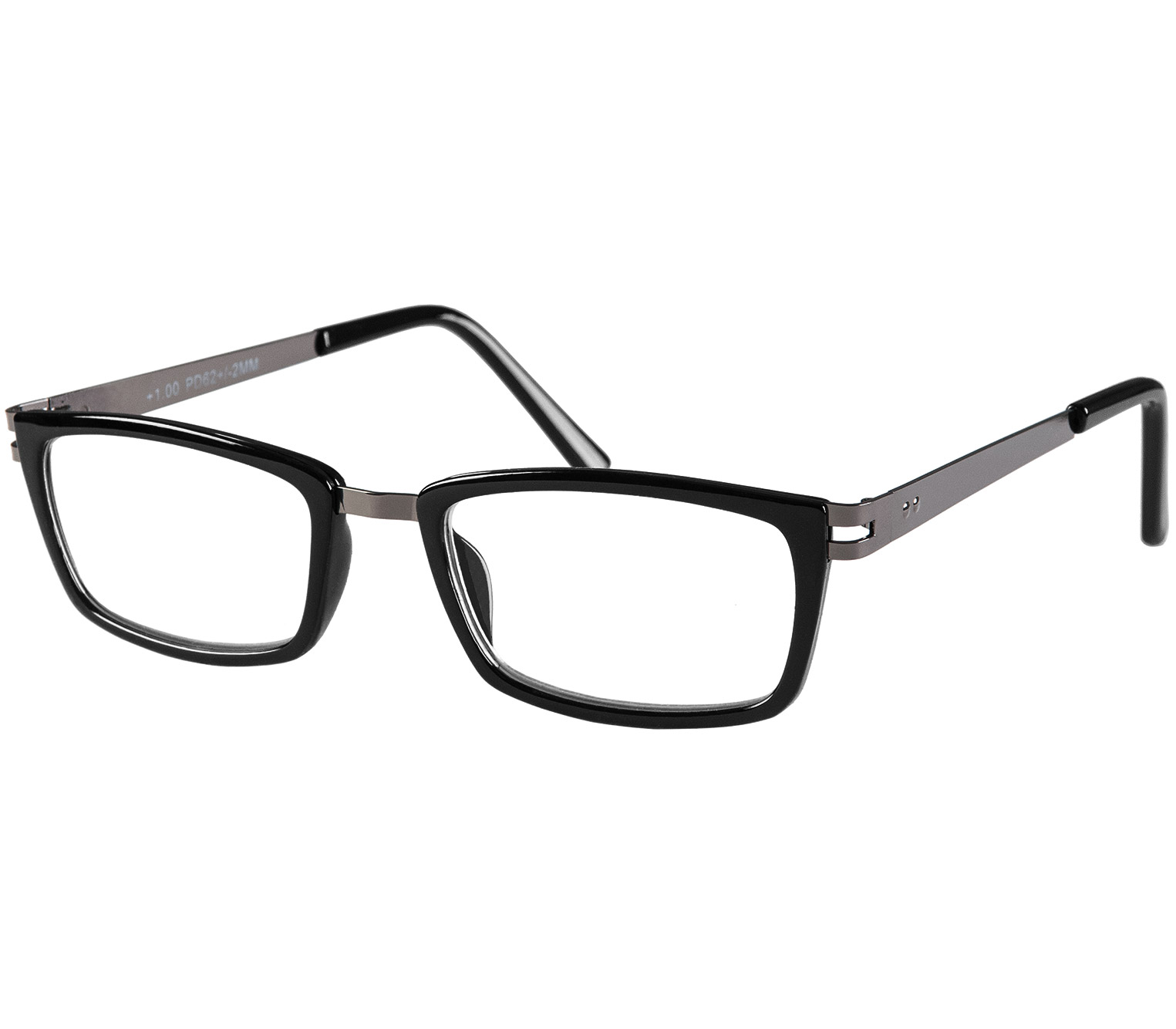 Main Image (Angle) - Midnight (Black) Reading Glasses