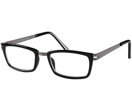 Midnight (Black) Retro Reading Glasses - Thumbnail Product Image