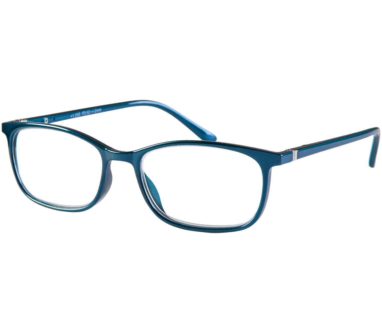 Main Image (Angle) - Martini (Blue) Classic Reading Glasses