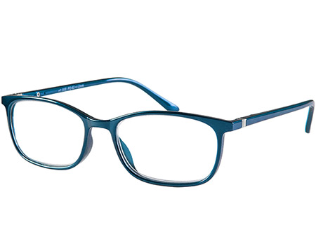 Martini (Blue) Classic Reading Glasses - Thumbnail Product Image