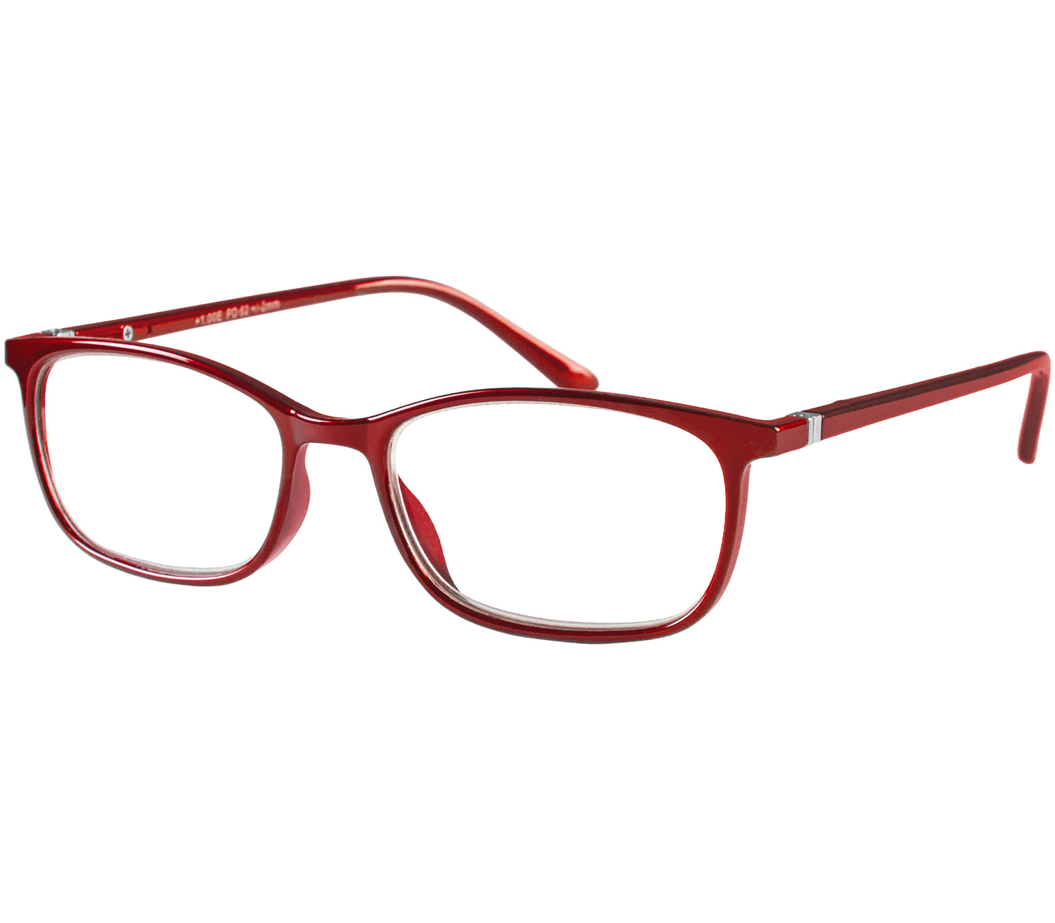 Main Image (Angle) - Martini (Red) Classic Reading Glasses