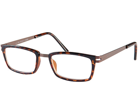 Midnight (Tortoiseshell) Retro Reading Glasses - Thumbnail Product Image