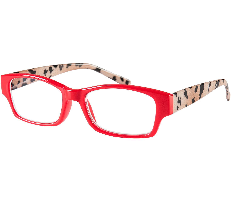Main Image (Angle) - Mozaic (Red) Fashion Reading Glasses