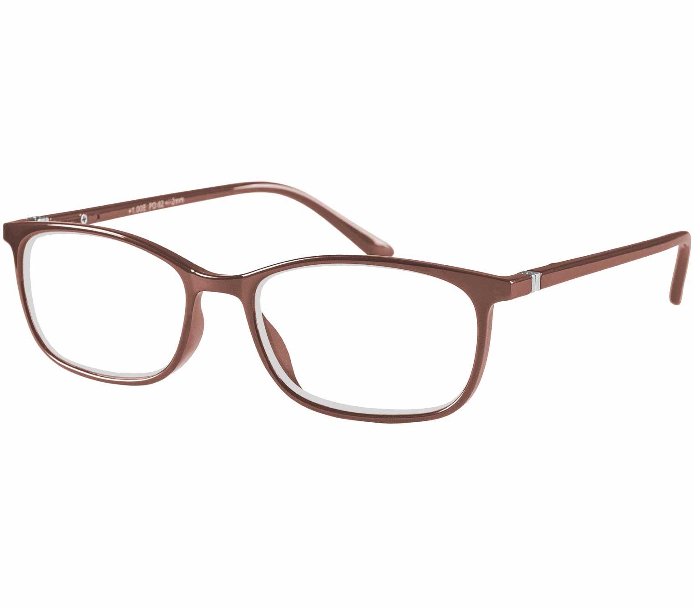 Main Image (Angle) - Martini (Brown) Classic Reading Glasses