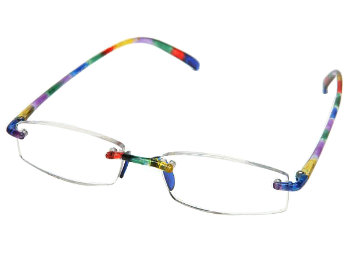 Modena (Multi-coloured) Flexible Reading Glasses