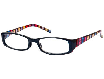 Waikiki (Black) Fashion Reading Glasses