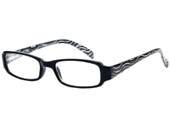 Curl (Black) Fashion Reading Glasses