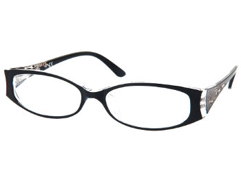Clermont (Black) Fashion Reading Glasses