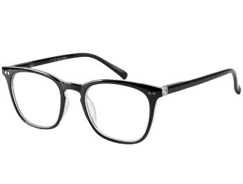 Nikita (Black) Retro Reading Glasses