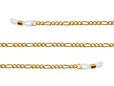 Link (Gold) Glasses Chains Accessories - Thumbnail Product Image