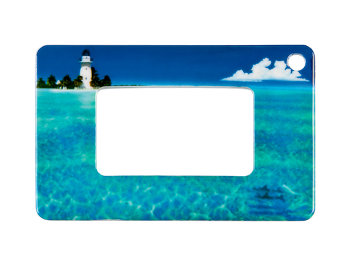 Wallet Magnifier (Ocean) Wallet Magnifiers Accessories - Thumbnail Product Image