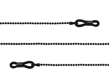 Link (Black) Glasses Chains Accessories - Thumbnail Product Image