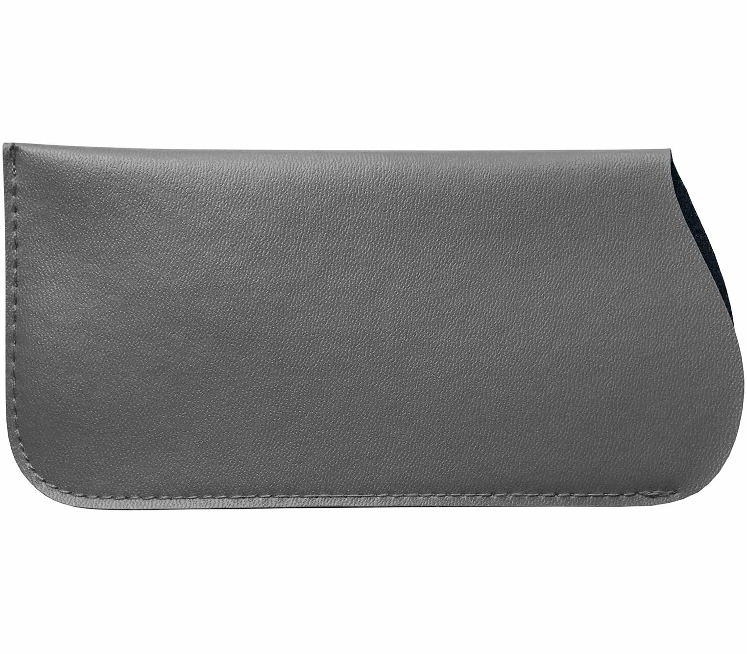 Main Image (Angle) - Preston (Grey) Glasses Pouches Accessories
