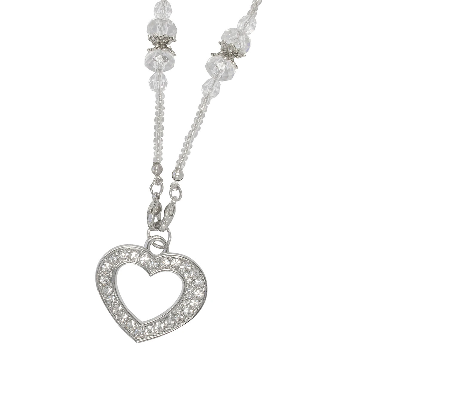 Main Image (Angle) - Candy (Silver) Glasses Chains Accessories