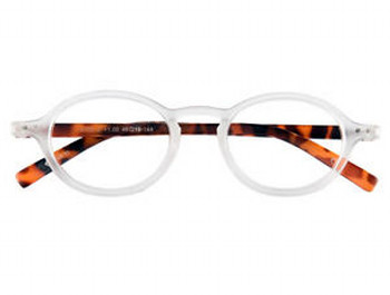 Highbury (White) Retro Reading Glasses