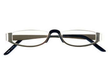 Greenwich (Silver) Semi-rimless Reading Glasses