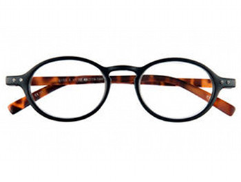 Highbury (Black) Retro Reading Glasses