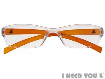 Oscar (Orange) Fashion Reading Glasses