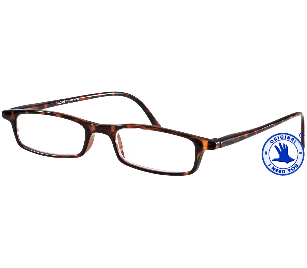 Main Image (Angle) - Adam (Tortoiseshell) Classic Reading Glasses