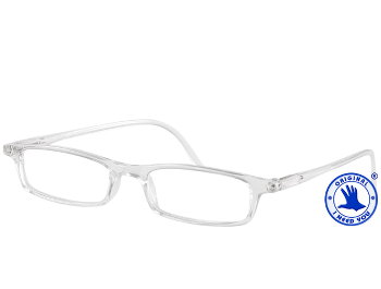 Adam (Clear) Classic Reading Glasses - Thumbnail Product Image