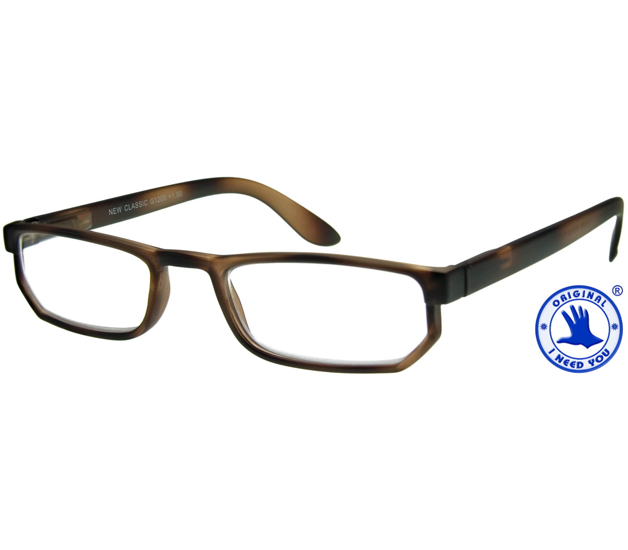 Main Image (Angle) - Warwick (Tortoiseshell) Classic Reading Glasses