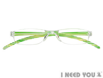 Wave (Green) Fashion Reading Glasses