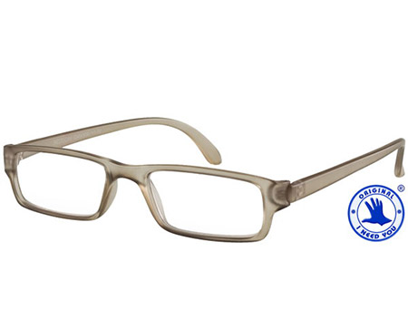 Action (Grey) Classic Reading Glasses - Thumbnail Product Image